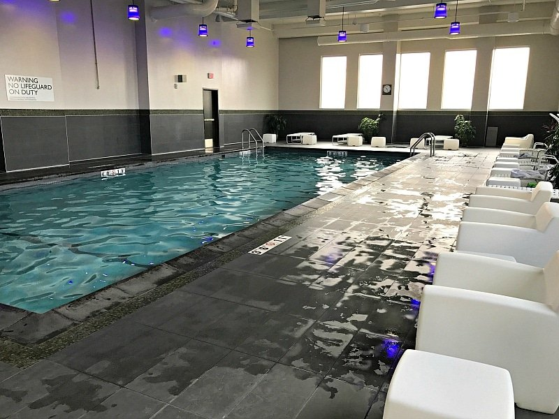 Indoor pool at Radisson Blu at the Mall of America ~ 30 Fun Things to Do at Mall of America Besides Shop