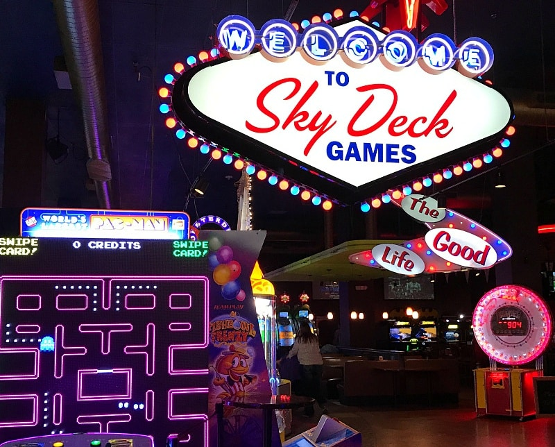 Skydeck Games ~ 30 Fun Things to Do at Mall of America Besides Shop