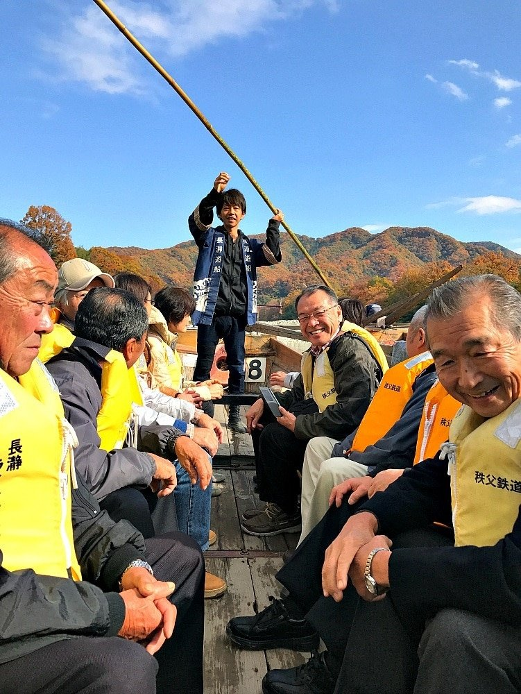 Shoot Arakawa rapids on a traditional Japanese boat ~ 10 Intriguing Things to Do Near Tokyo