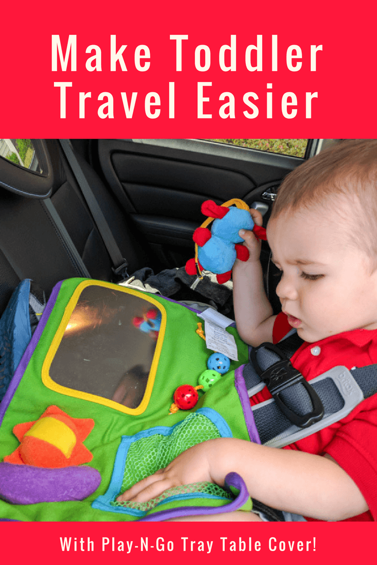 Make Toddler Travel Easier with Play-N-Go Tray Table Cover