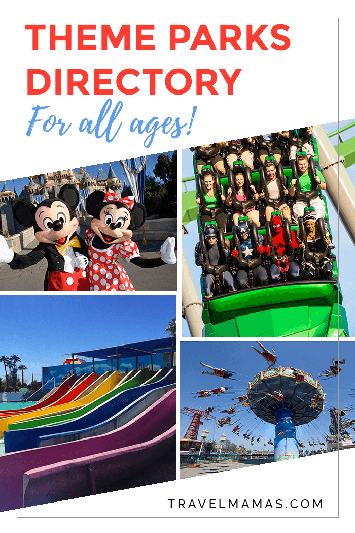 Theme Parks Directory for All Ages!
