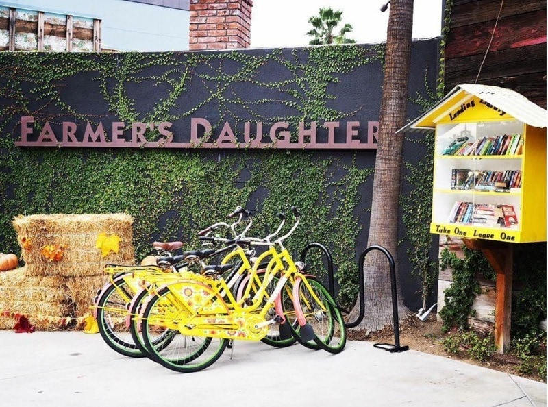 The Shaken and Stirred package from Father's Daughter Hotel paired with borrowed bicycles make for a great Father's Day weekend ~ Father's Day Hotel Packages