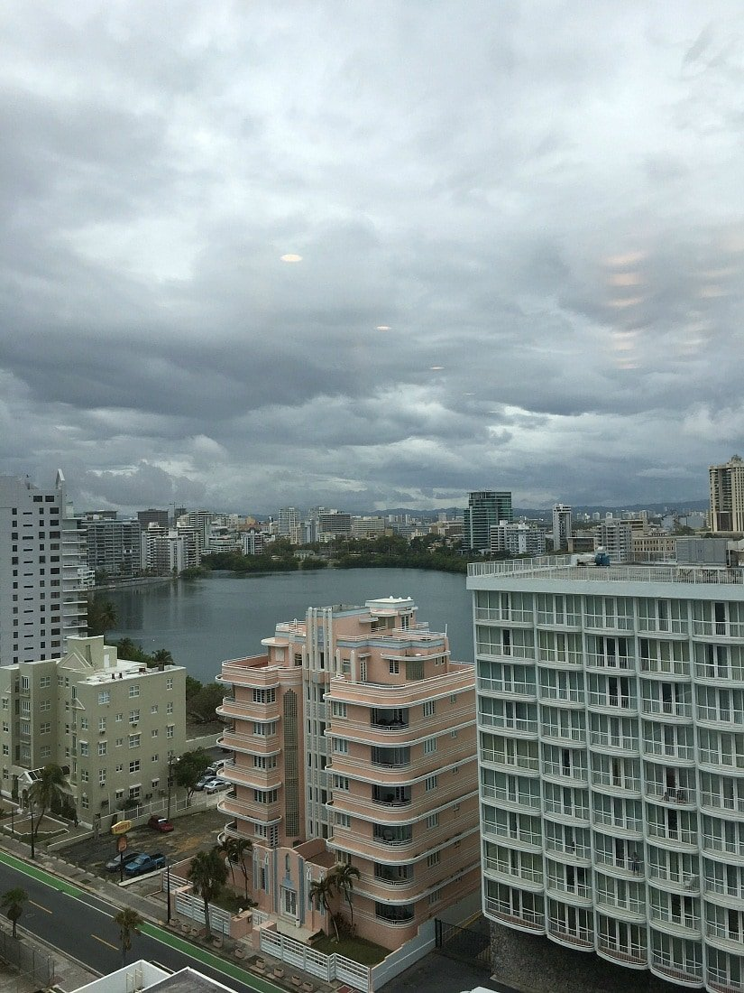 View from the Plaza Condado Hilton ~ San Juan with Kids