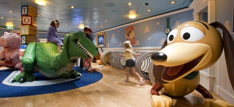 Visit the kids club on the day of embarkation when cruising with kids