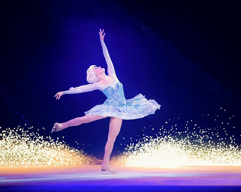 Fans of Princess Elsa will love Disney On Ice Frozen! ~ 8 Tips for Disney On Ice with Kids