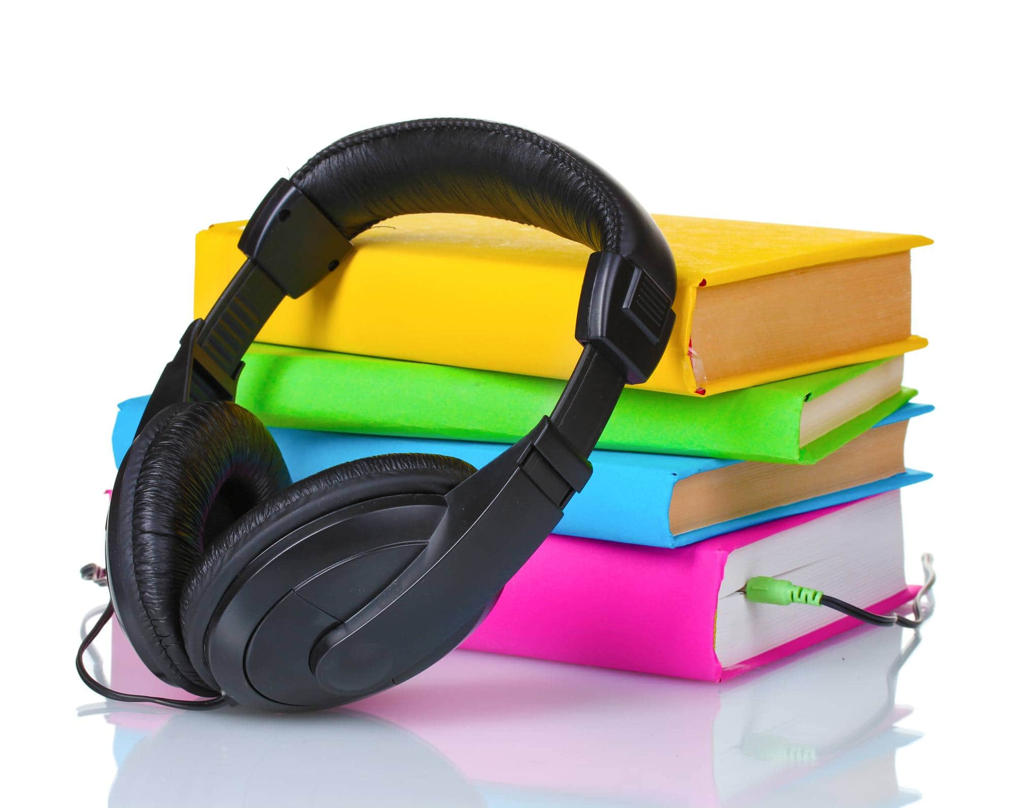 Listening to an audiobook can turn a boring stretch of highway into an adventure in an imaginary land ~ Family Road Trip Tips