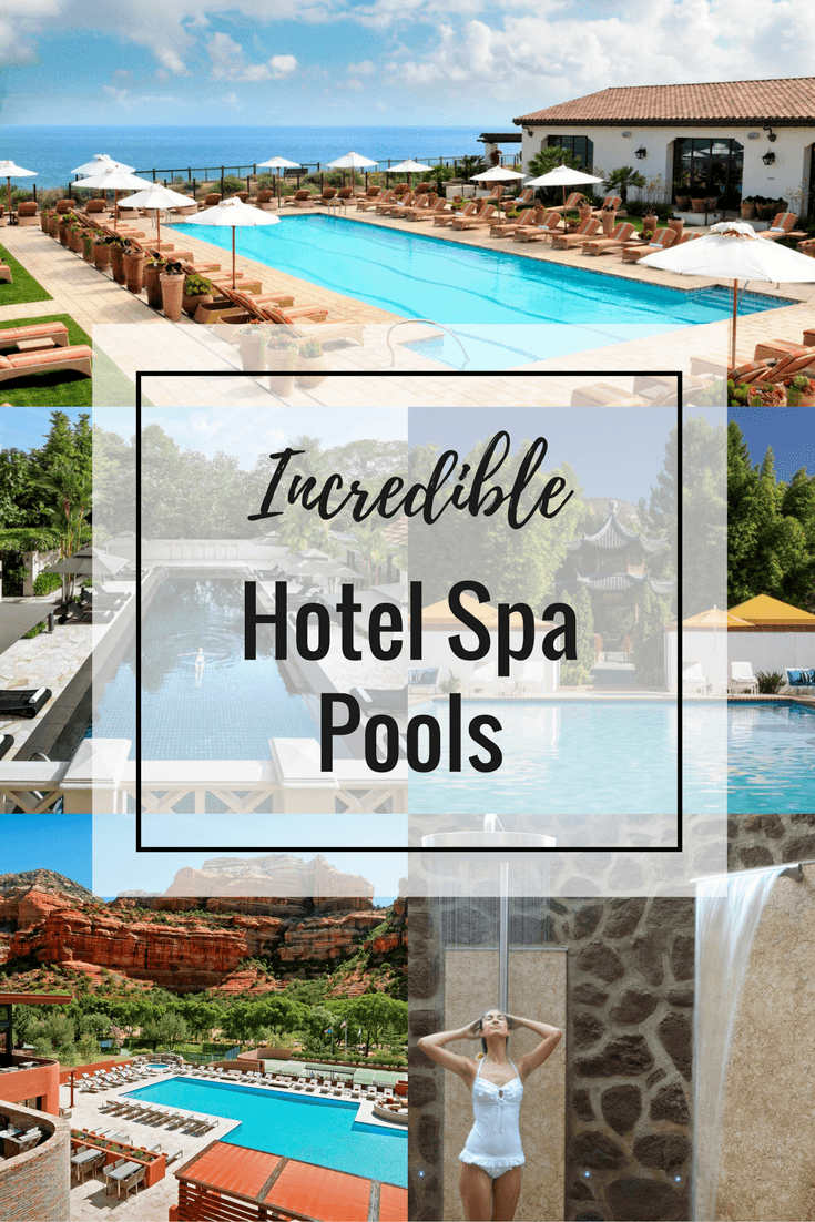 Incredible Hotel Spa Pools to Tempt Different Types of Spa Goers