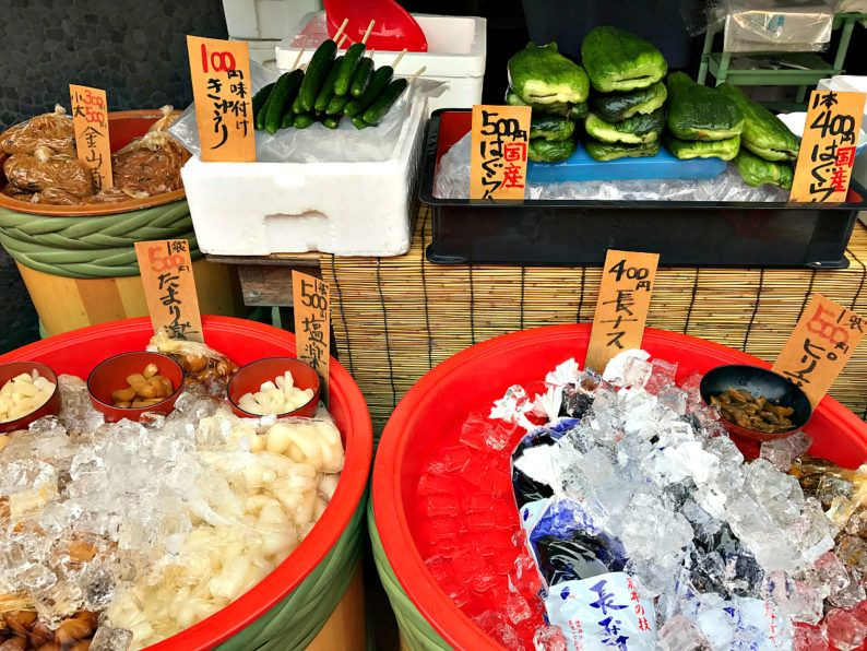 Traditional snacks for sale in Narita ~ 5 Incredible Things to Do in Narita, Japan
