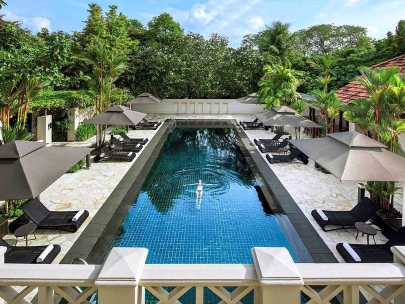 Sofitel Singapore Sentosa Resort hotel spa pool
