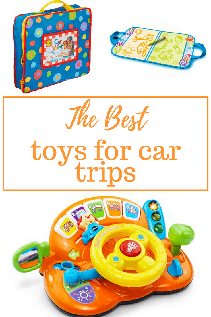 The best toys for car trips with kids