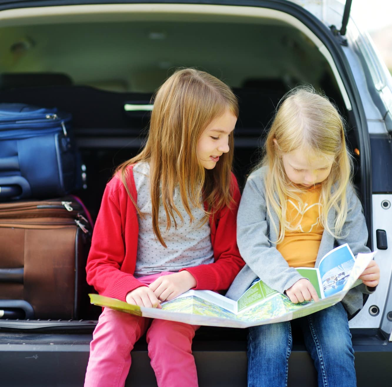 unplugged road trip activities for kids