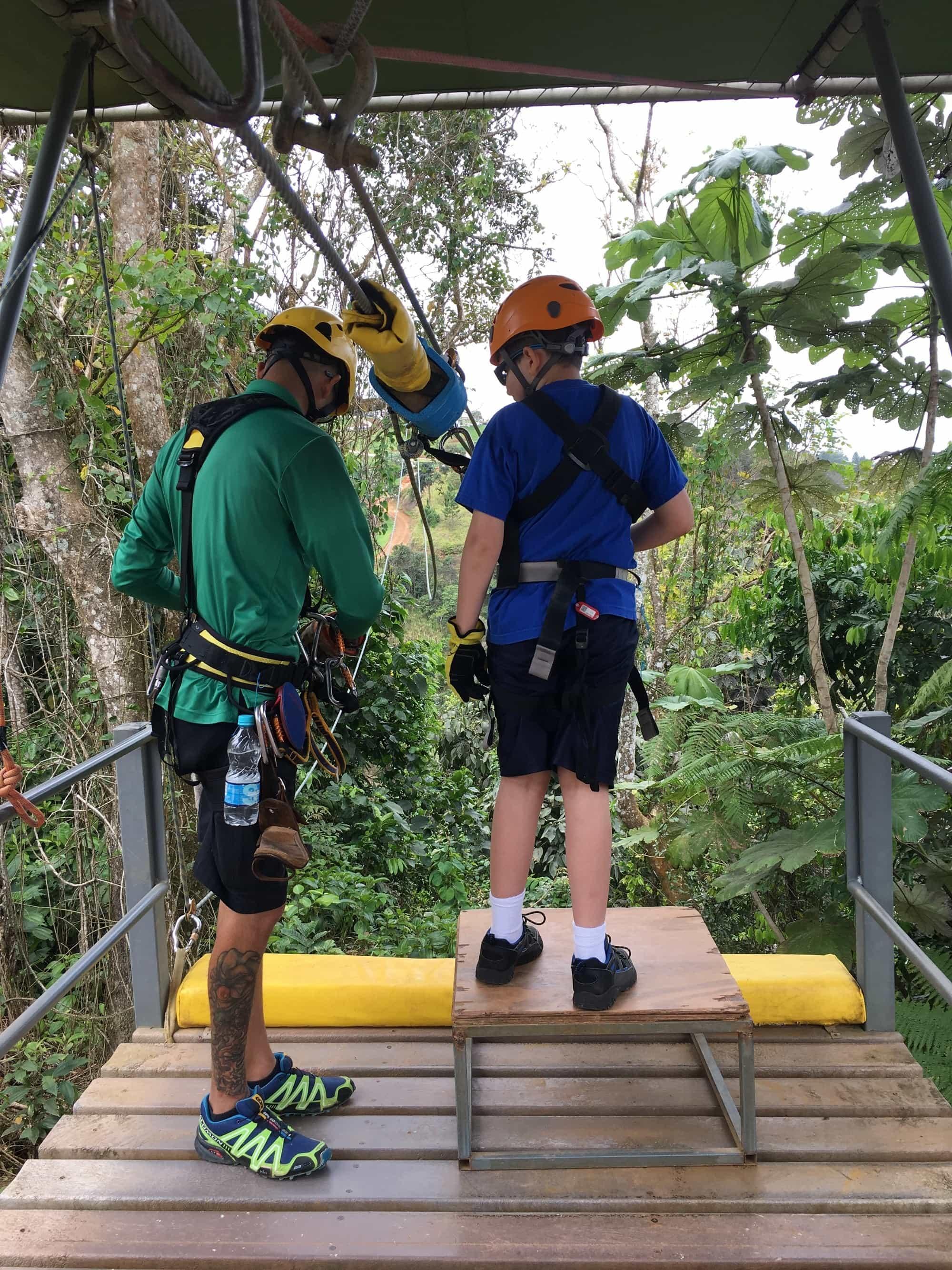 Toroverde Adventure Park in Puerto Rico