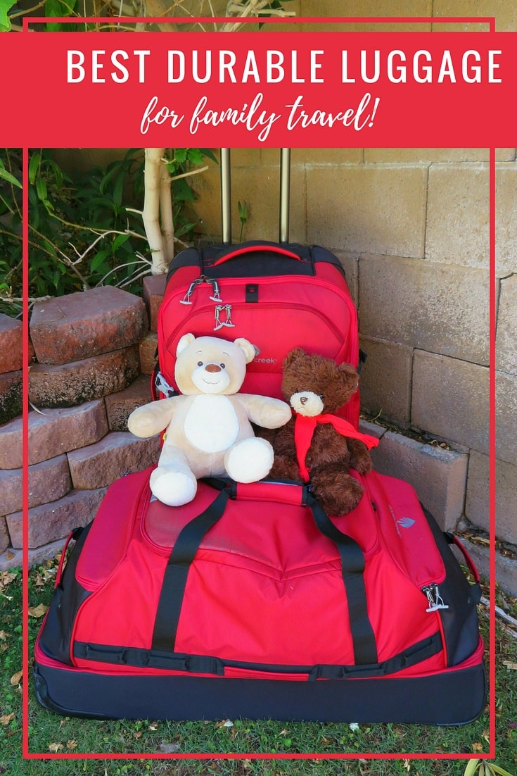 Best Durable Luggage for Family Travel ~ Eagle Creek Expanse Review AND GIVEAWAY!