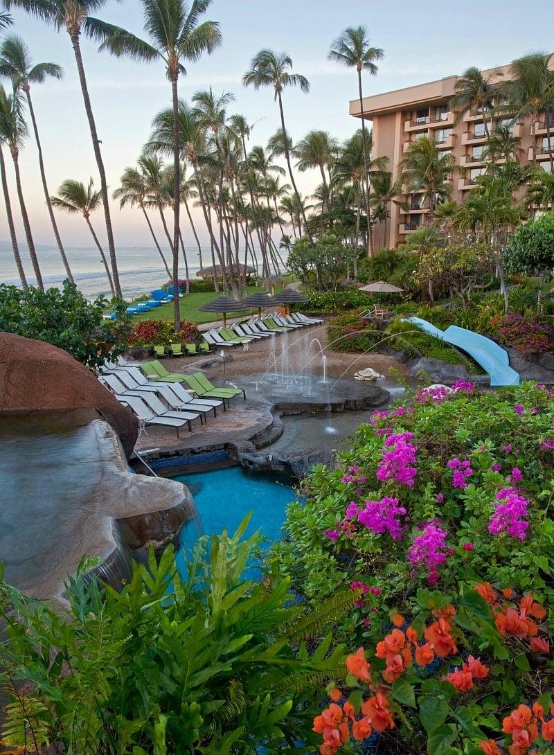 Hyatt Regency Maui's Keiki Lagoon ~ Best Hotel Pools in Hawaii for Families