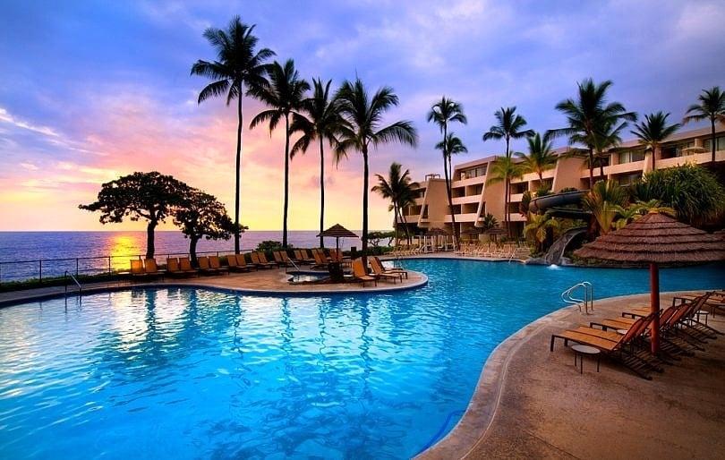 One of Sheraton Kona's fantastic pools