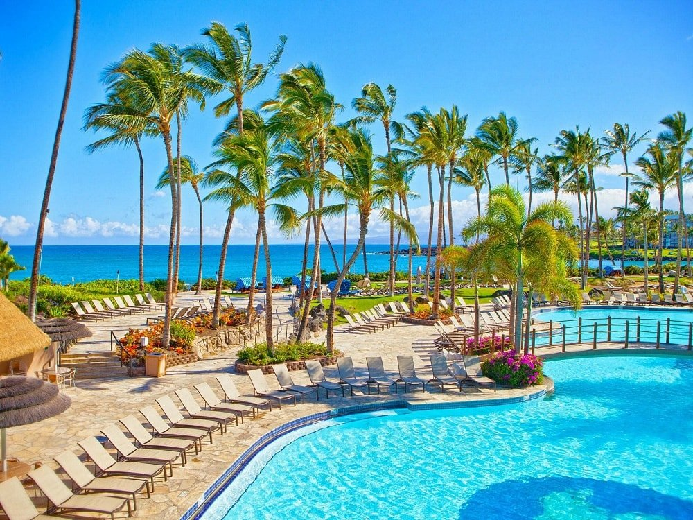 Hilton Waikoloa's Kona Pool ~ Best Hotel Pools in Hawaii for Families