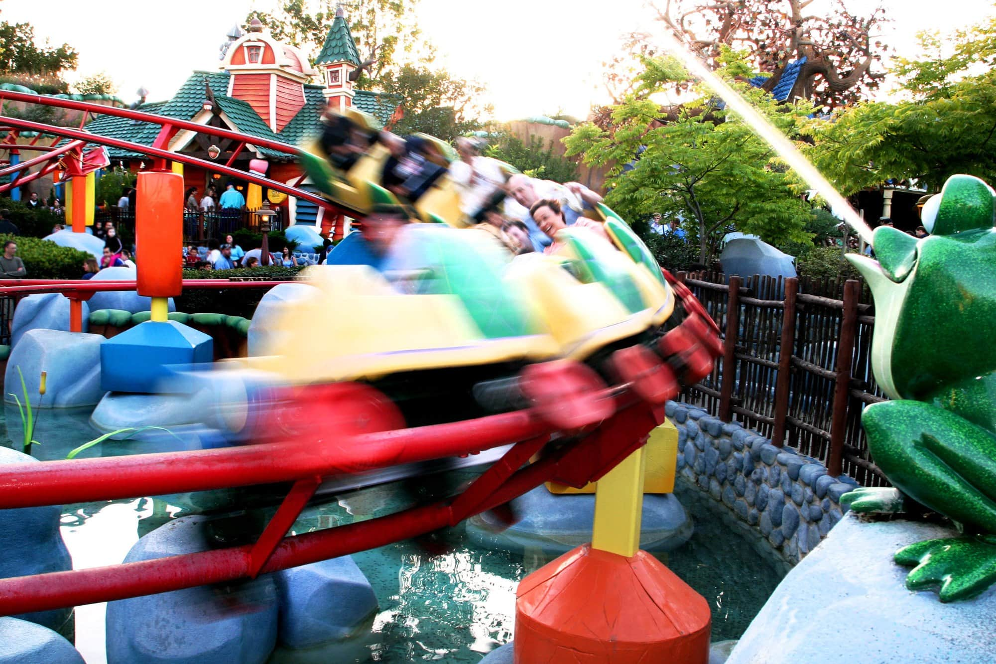 Gadget's Go Coater is a good starter roller coaster ~ Scariest Rides at Disneyland