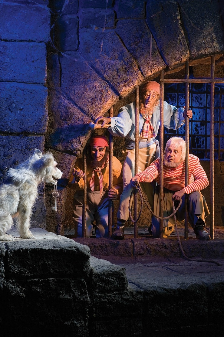 Pirates of the Caribbean may scare young riders ~ Scariest Rides at Disneyland