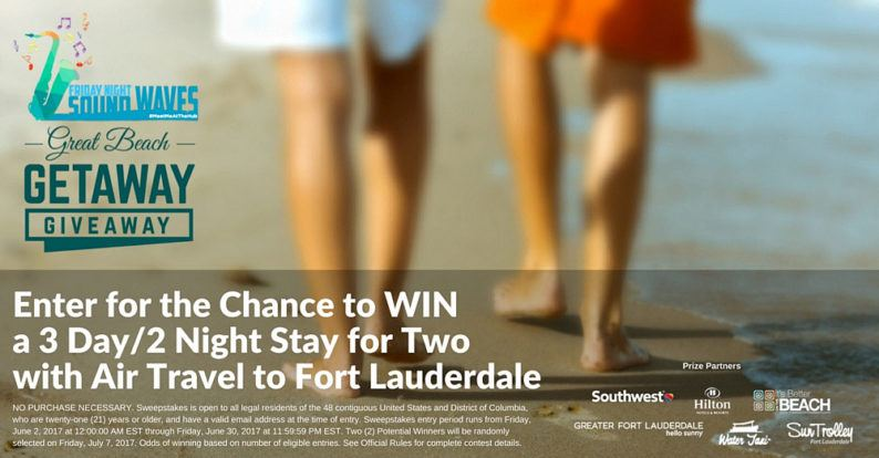 Great Beach Getaway Giveaway ~ Enter to win a Fort Lauderdale Vacation!