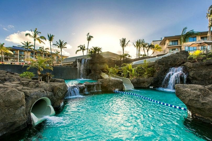 Koloa Landing Resort's Signature Pool ~ Best Hotel Pools in Hawaii for Families