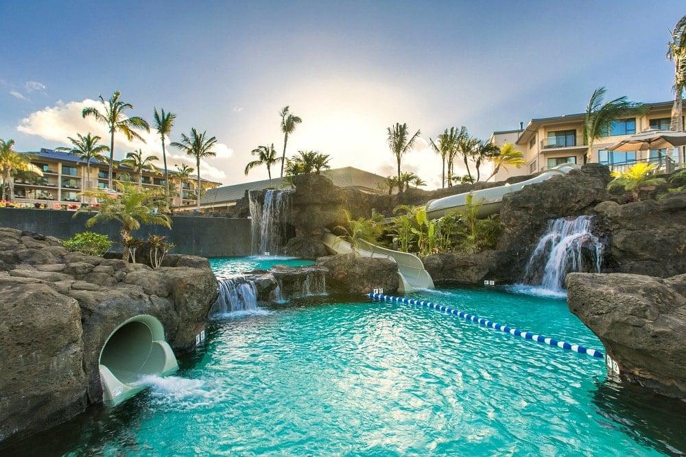 Koloa Landing Resort's Signature Pool ~ Best Hotel Pools in Hawaii for Families