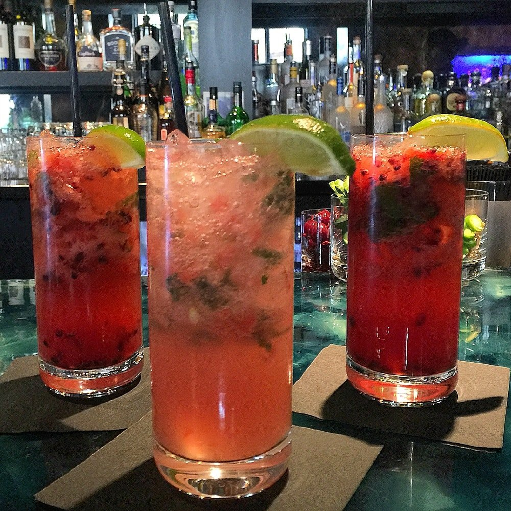Mojitos at The Sebastian's Frost Bar are perfect for summer in Vail