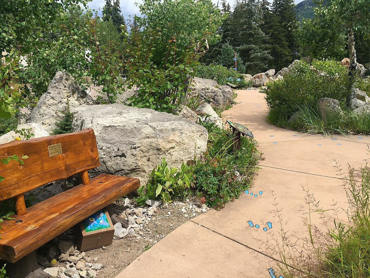 Can you spy with your little eye the decorated letter box at Betty Ford Alpine Gardens? ~ 14 Things to Do in Vail in Summer