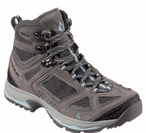 My favorite hiking boots: Vasque Breeze ~ What to Borrow and What to Buy for Your First Camping Trip
