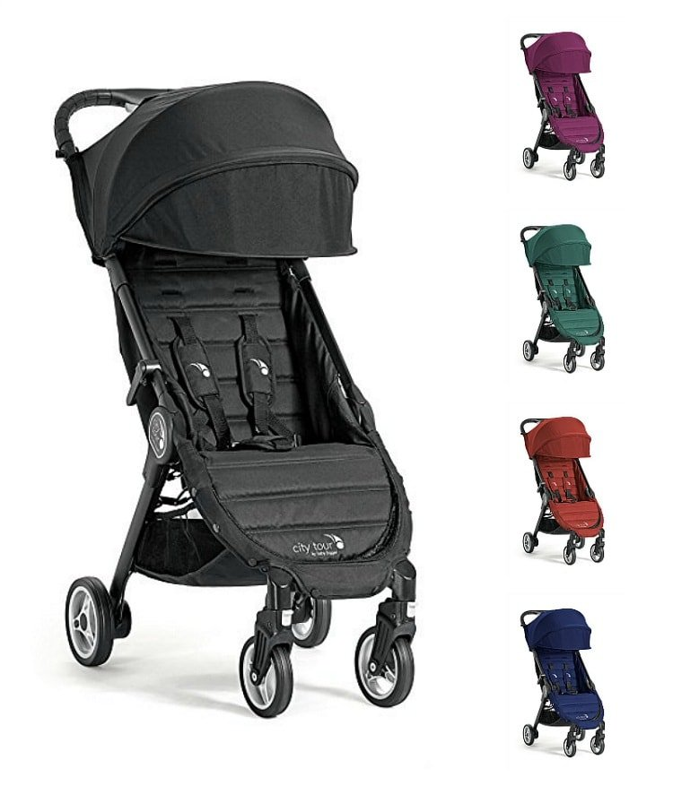The Baby Jogger City Tour Stroller comes in five different colors