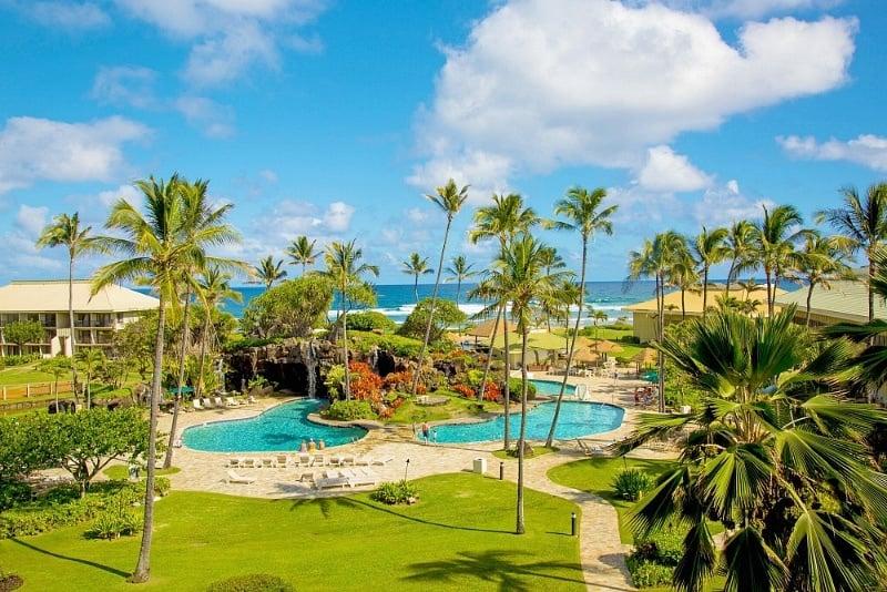 Aqua Kauai Beach Resort's pools ~ Best Hotel Pools in Hawaii for Families