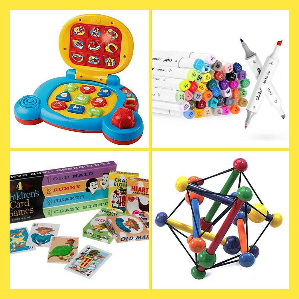 Best Travel Toys For Kids From Babies To Teens