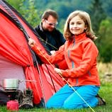 what to buy and what to borrow for your first camping trip