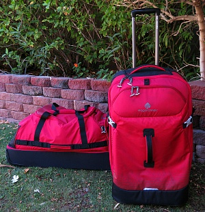 eagle creek duffels ~ perfect for first time camping trip by car