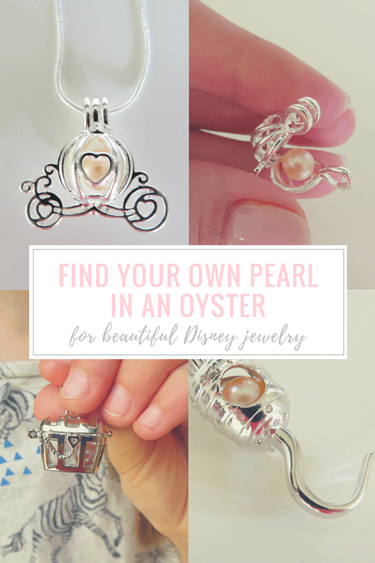 Find Your Own Pearl in an Oyster for Beautiful Disney Jewelry