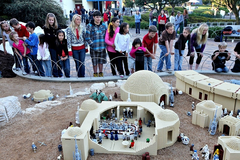 LEGO STAR WARS Miniland is fun for LEGO fans and Star Wars fans alike ~ Legoland California Tips for All Ages from Babies to Adults