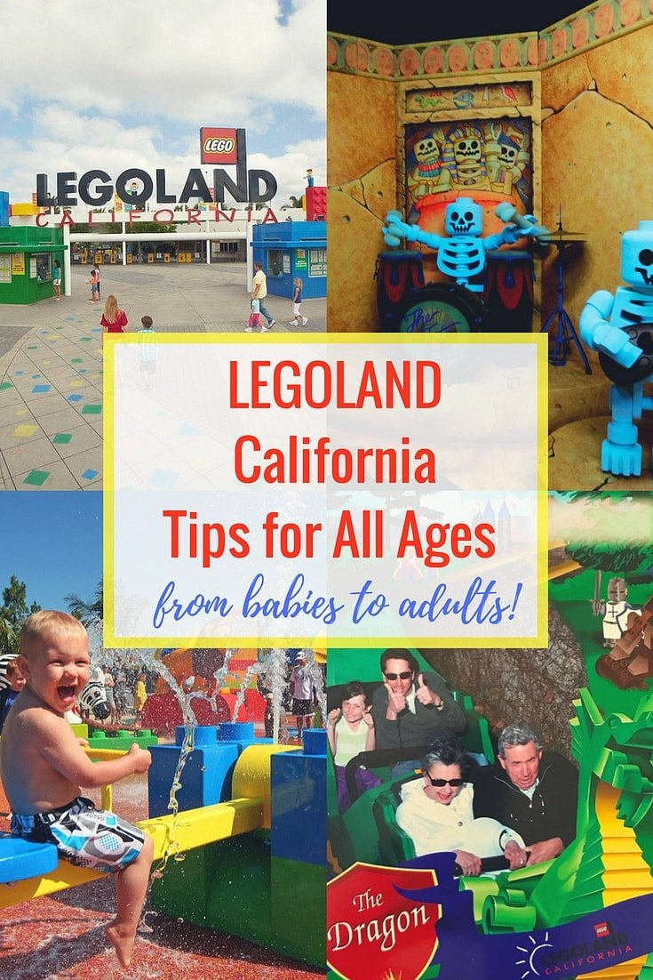 Legoland California for All Ages from Babies to Adults