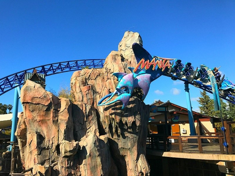 Manta is a VERY thrilling and popular ride at SeaWorld San Diego ~ 12 Tips for SeaWorld San Diego with Kids