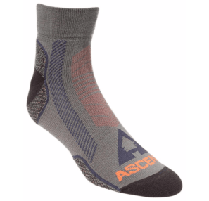 Buy some wool hiking socks for your camping trip like these, made by Ascend