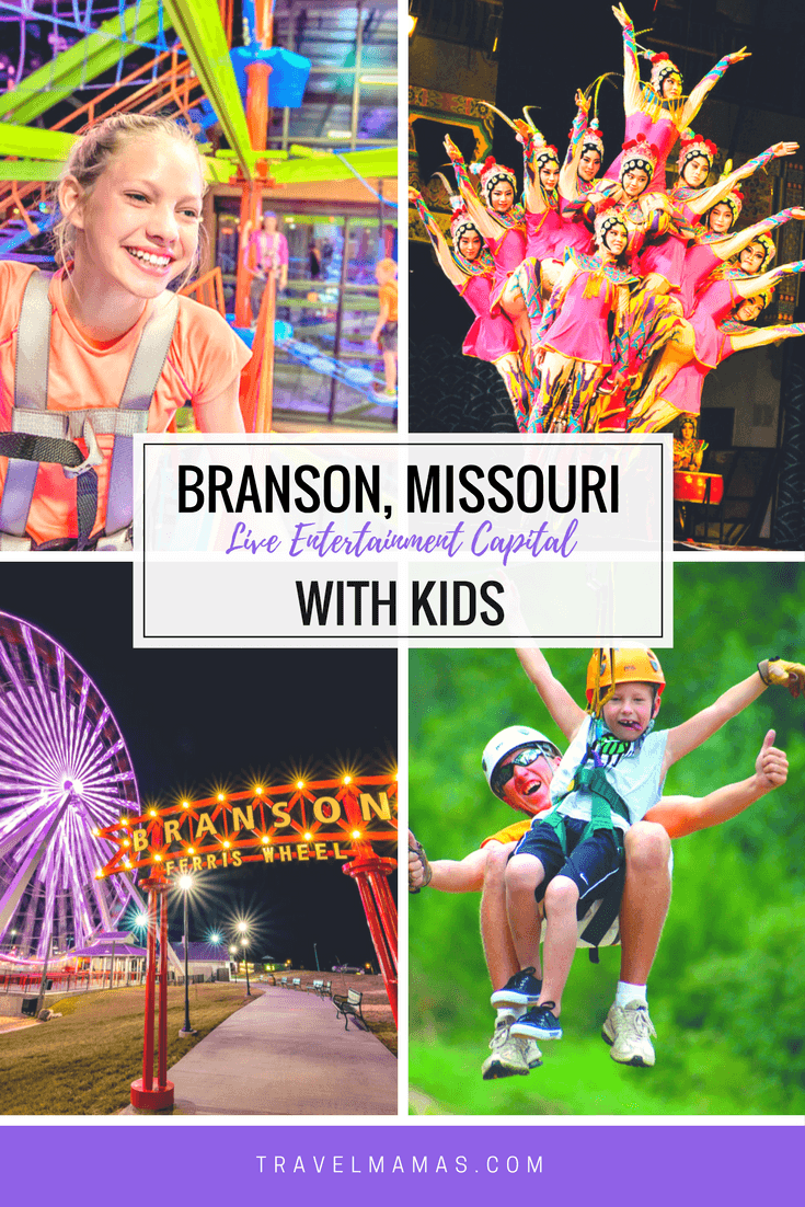 Branson Missouri with Kids ~ The Live Entertainment Capital of the World. Considering a Branson family vacation? Here's what you need to know before you go!
