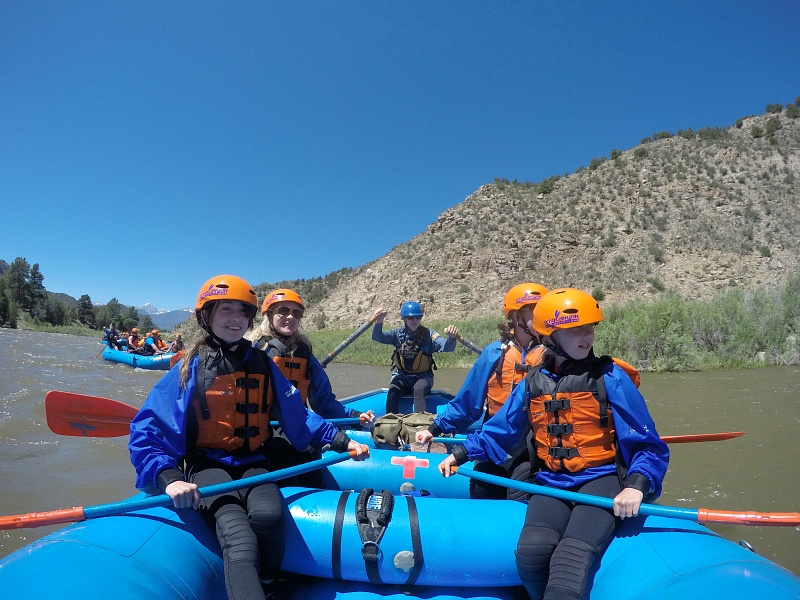 Rafting down the Arkansas River in Canon City, Colorado ~ 8 Amazing Adventures in Canon City and Colorado Springs for Families