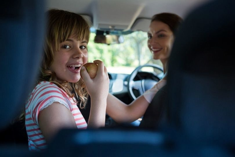 Pack safe foods for road trips with kids with food allergies