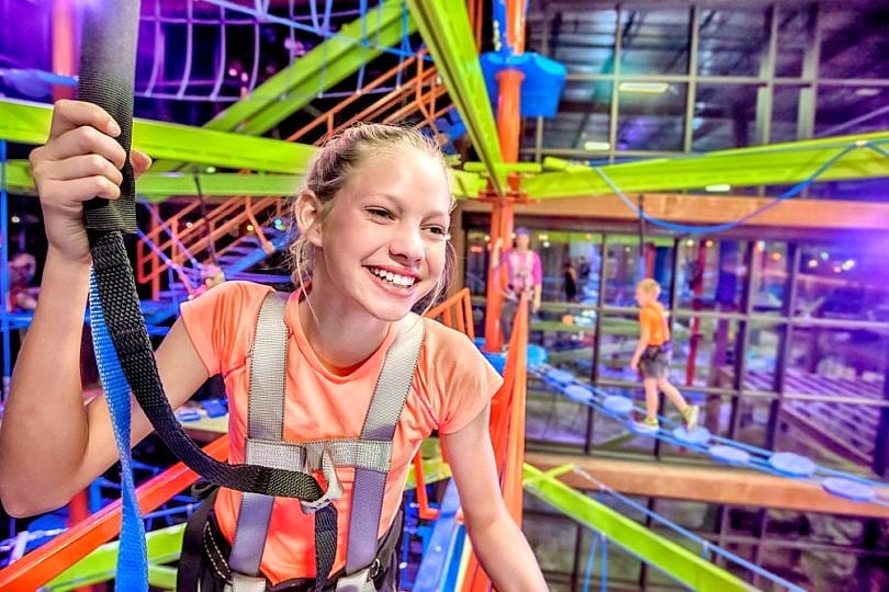 There's 80,000 square feet of active indoor fun at Fritz's Adventures for your Branson family vacation