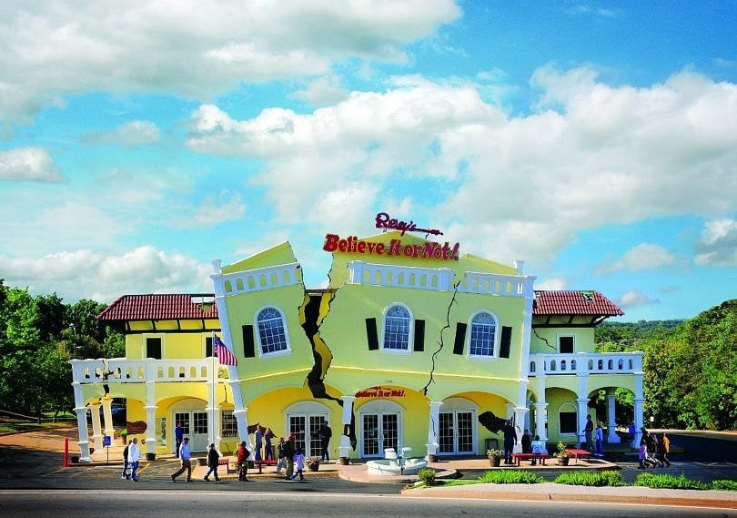 Your kids won't believe all of the amazing things to see at Ripley's Believe It Or Not Museum on Your Branson Family Vacation