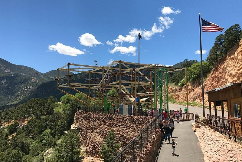 The adventure course at Canyon of the Winds Caves ~ 9 Amazing Adventures in Canon City and Colorado Springs for Families