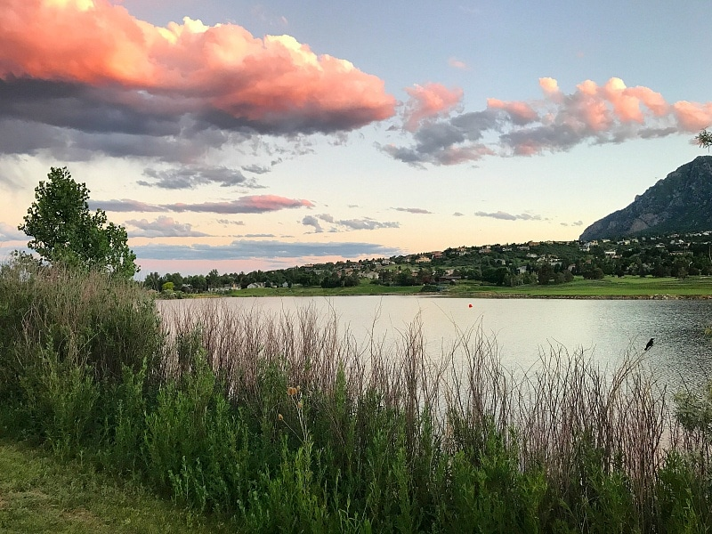 Lake view at Cheyenne Mountain Resort ~ 9 Amazing Adventures in Canon City and Colorado Springs for Families