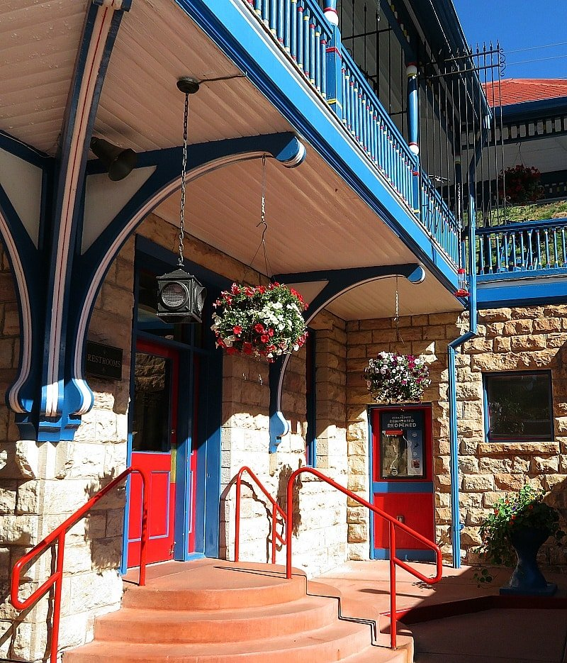 The darling train station in Manitou Springs ~ 9 Amazing Adventures in Canon City and Colorado Springs for Families