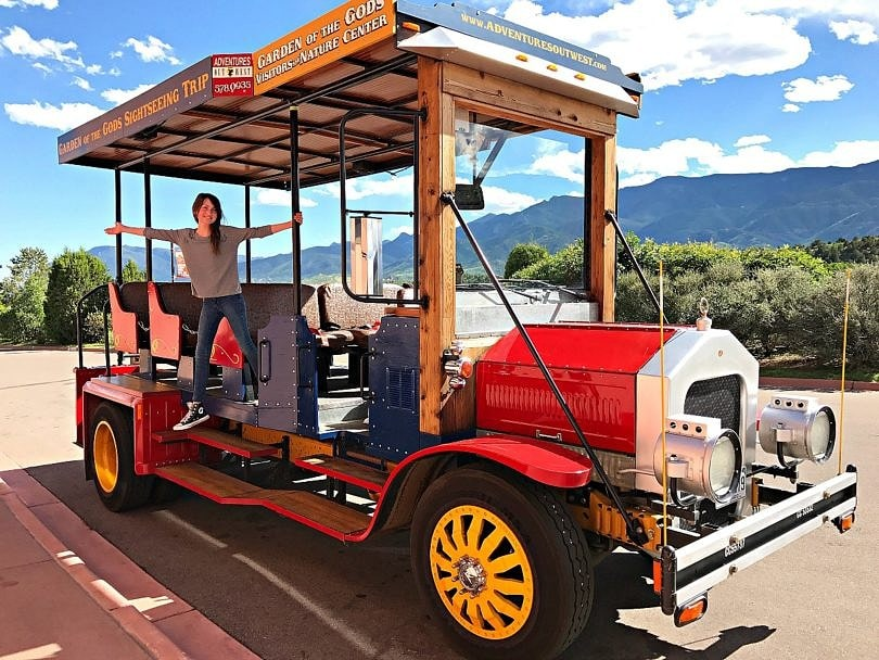 Our trolley tour of Garden of the Gods ~ 9 Amazing Adventures in Canon City and Colorado Springs for Families