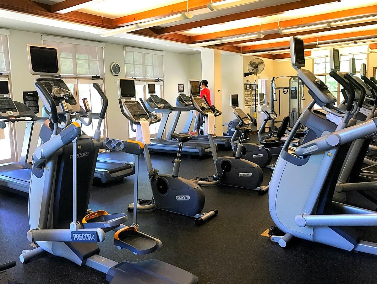 I didn't golf or play tennis...but I did hit up the Fitness Center at Four Seasons Scottsdale