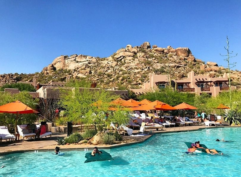 Family pool at Four Seasons Scottsdale
