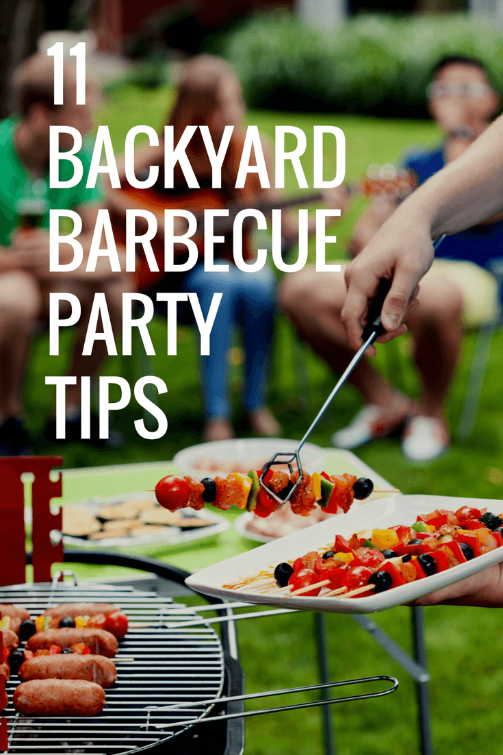 11 Backyard Barbecue Party Tips to Impress Guests without Stress